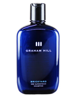 Graham Hill Brickyard 500 Superfresh Shampoo 250 ml