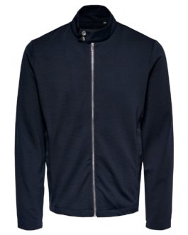 Performance Jacket Reg zip – Navy