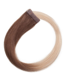 Quick & Easy Premium Glatt O5.1/10.8 Medium Ash Blond Ombre 50 cm
