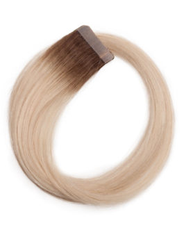 Quick & Easy Premium Glatt R5.1/10.8 Medium Ash Blonde Root 50 cm