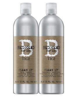 TIGi Bed Head For Men Clean Up DUO Pack 750 ml