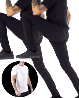 2 Stk. Performance Pants + Gratis T-shirt