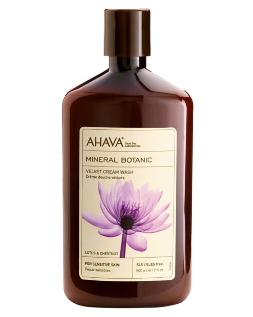 AHAVA Velvet Cream Wash - Lotus & Chestnut 500 ml