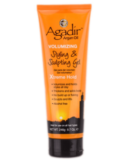 Agadir Argan Oil Volumizing Styling & Sculpting Gel Extreme Hold (U) 246 g