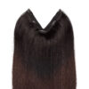 Easy Clip-in Original O1.2/2.0 Black Brown Ombre 50 cm
