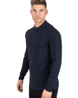 Performance Polo Shirt L/S – Navy