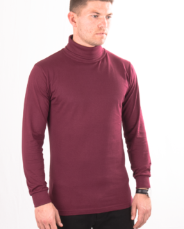 Turtleneck – Bordeauxrot