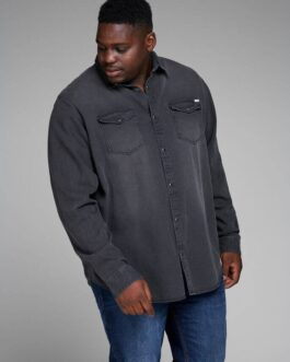 Sheridan shirt – Black Denim