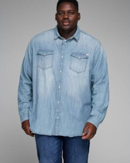 Sheridan shirt – Medium Blue Denim