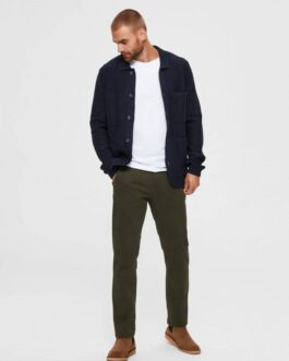 Performance Chino Pant – Forest night (regular)