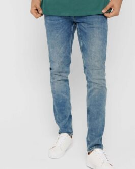 Performance Jeans – Light Blue