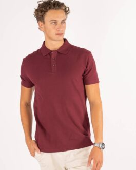 Performance Polo Shirt – Bordeaux