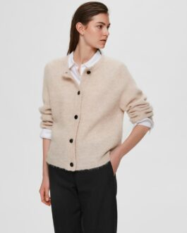 Cardigan mit Wolle – Birch