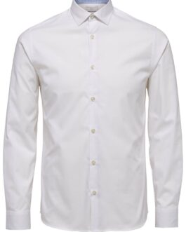Performance Hemd – Plus size – Bright white